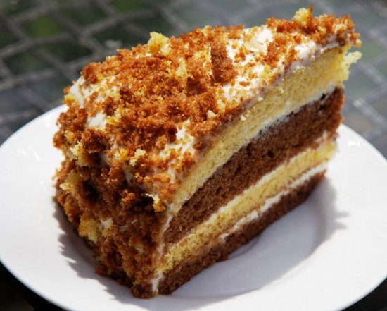 Торт на сметане в мультиварке рецепты с фото
