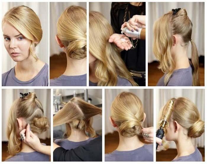 Как красиво сделать начес на средние волосы фото 92