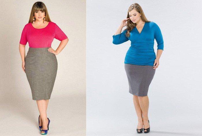 Літні спідниці для повних жінок великих розмірів.  d1603fad40ff5