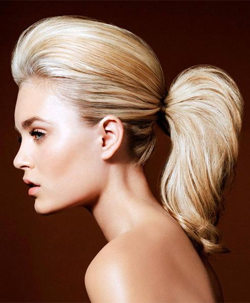 Простые повседневные причёски. Какими они должны быть? Оригинальные хвостики и пучки.. Фото №8
