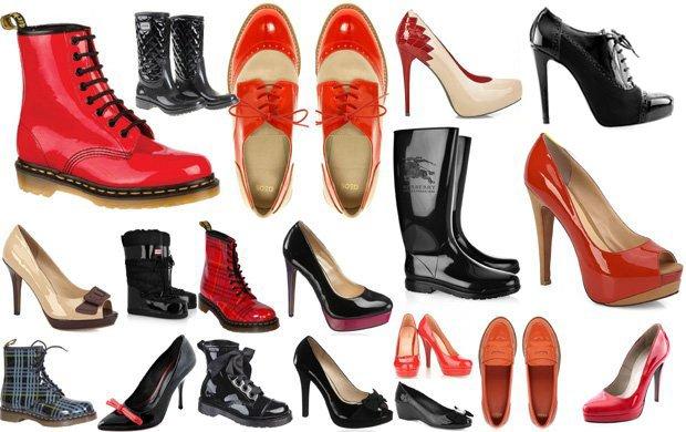 Правила догляду за лакованим взуттям  eb856aa21a3c8