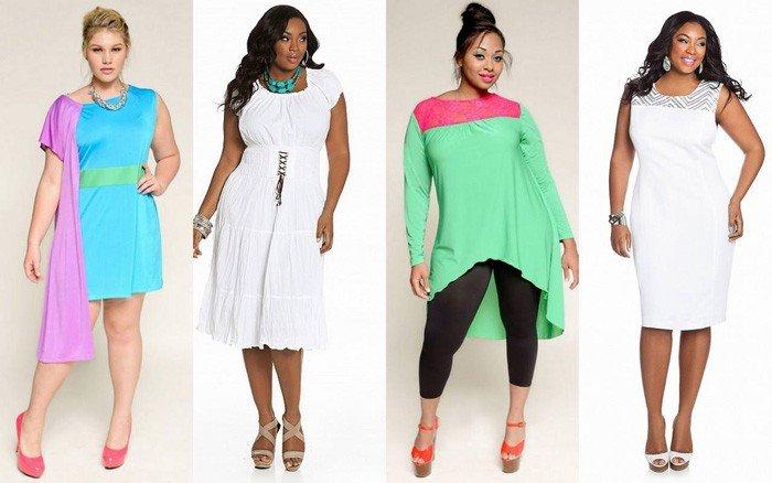 Жіночі літні сукні великих розмірів для повних жінок  13a28d6967f05