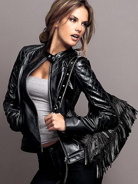 кожані куртки жіночі ціна фото