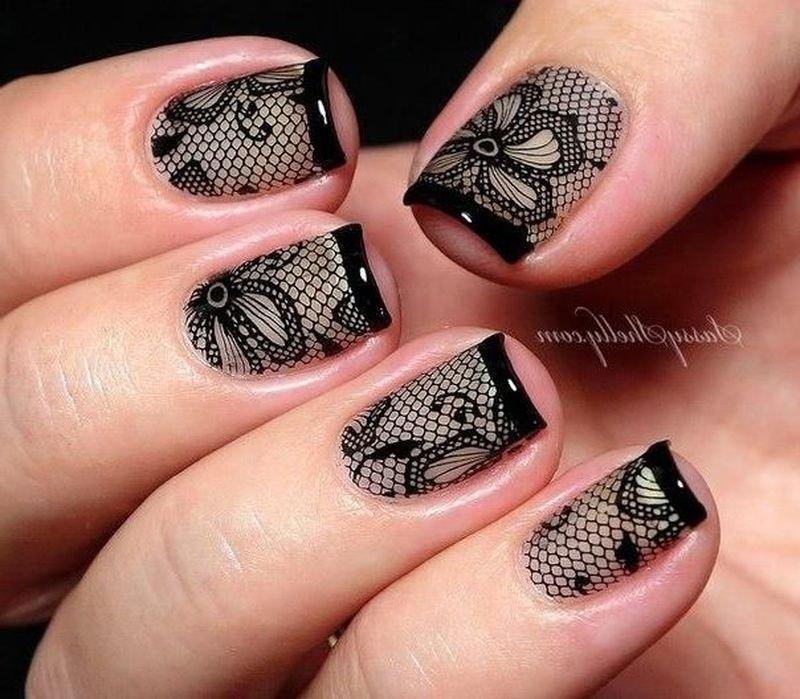 Ногти с дизайном необычным дизайном
