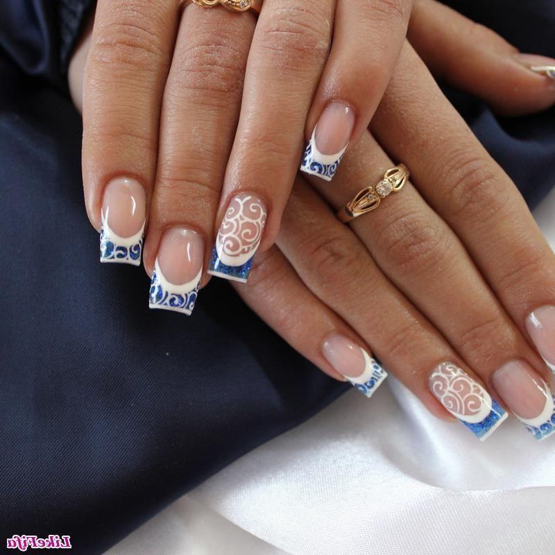 рисунки на нарощенных ногтях 2016 фото
