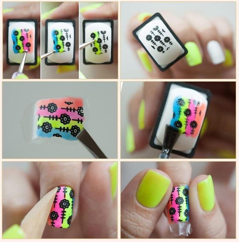 Штампы для ногтей в домашних условиях 65
