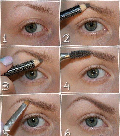 Как красиво накрасить карие глаза?