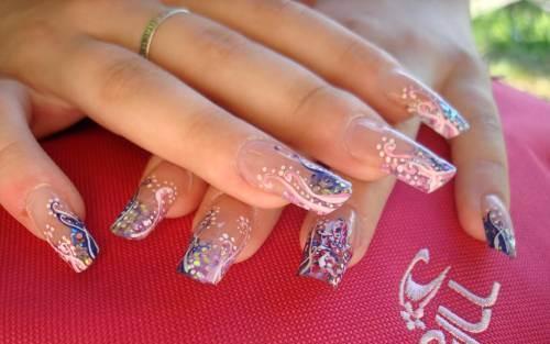 Ногти нарощенные новинки 47
