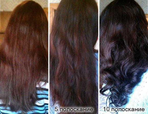 Чем полоскать волосы после окрашивания