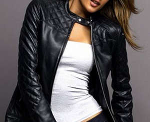 Шкіряна куртка — обов язковий елемент жіночого гардероба  06f09074f438a
