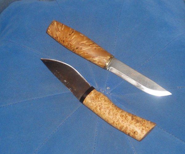 Как закалить нож из клапана в домашних условиях