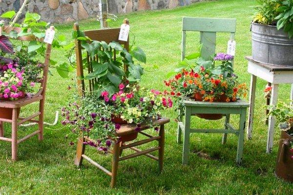 Оригінальні ідеї для дачі та саду своїми руками