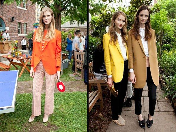 Модные Пиджаки Женские 2011