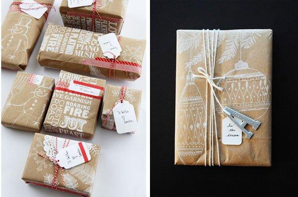 Как упаковать в один подарок несколько предметов