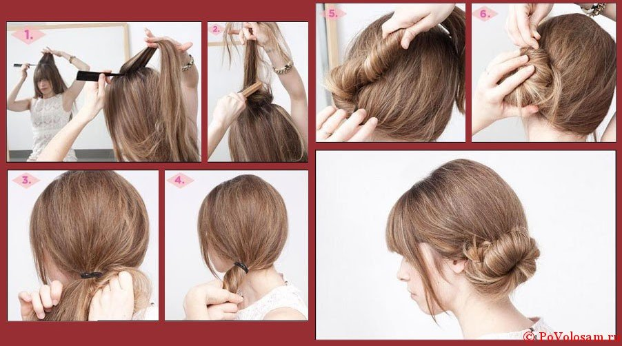 Укладка волос в домашних условиях на тонкие волосы 398