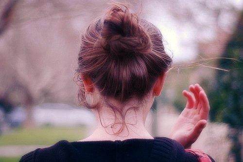 Фото на аву со спины с короткой стрижкой 92