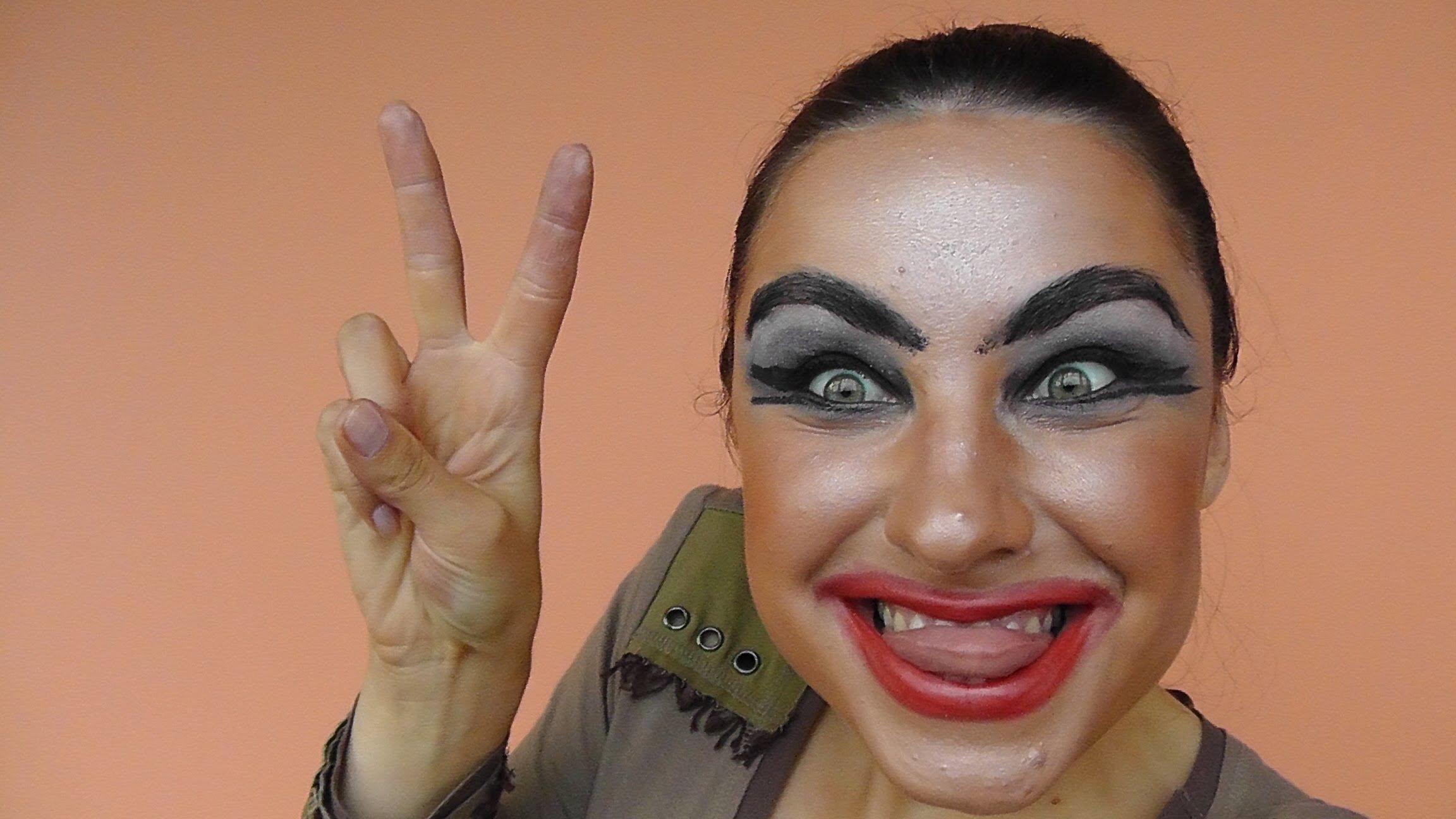 Самые нелепый макияж фото