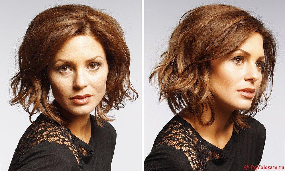Как сделать мокрый эффект на коротких прямых волосах