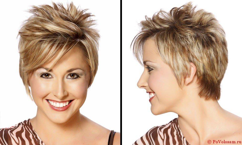 Как сделать модную укладку на короткие волосы