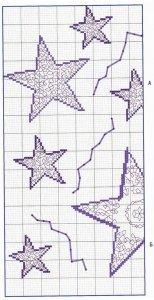 Узор «звездочки» спицами Что можно вязать, используя узор «звездочки»?