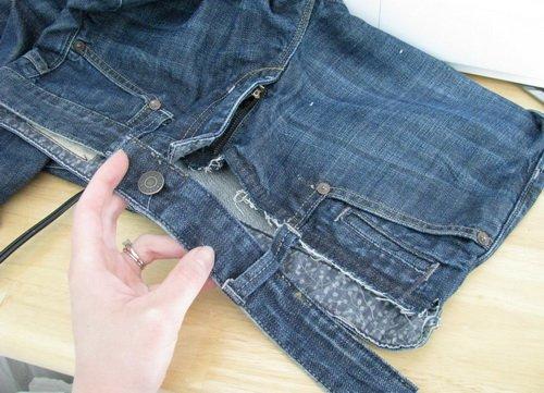Что можно сделать из старых классических брюк своими руками 80