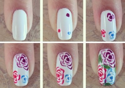 Простые дизайны ногтей для начинающих