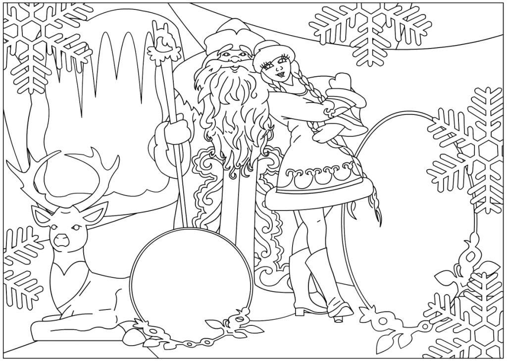 Рисунки к новому году своими руками карандашом