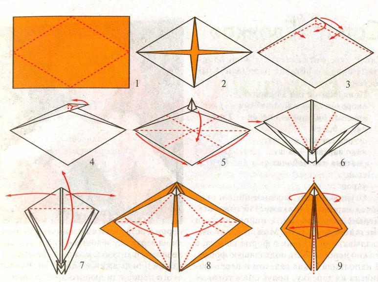 Ногти из бумаги своими руками схемы 86