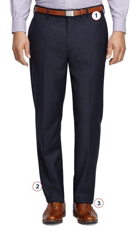 как должны сидеть брюки на мужчине страницу