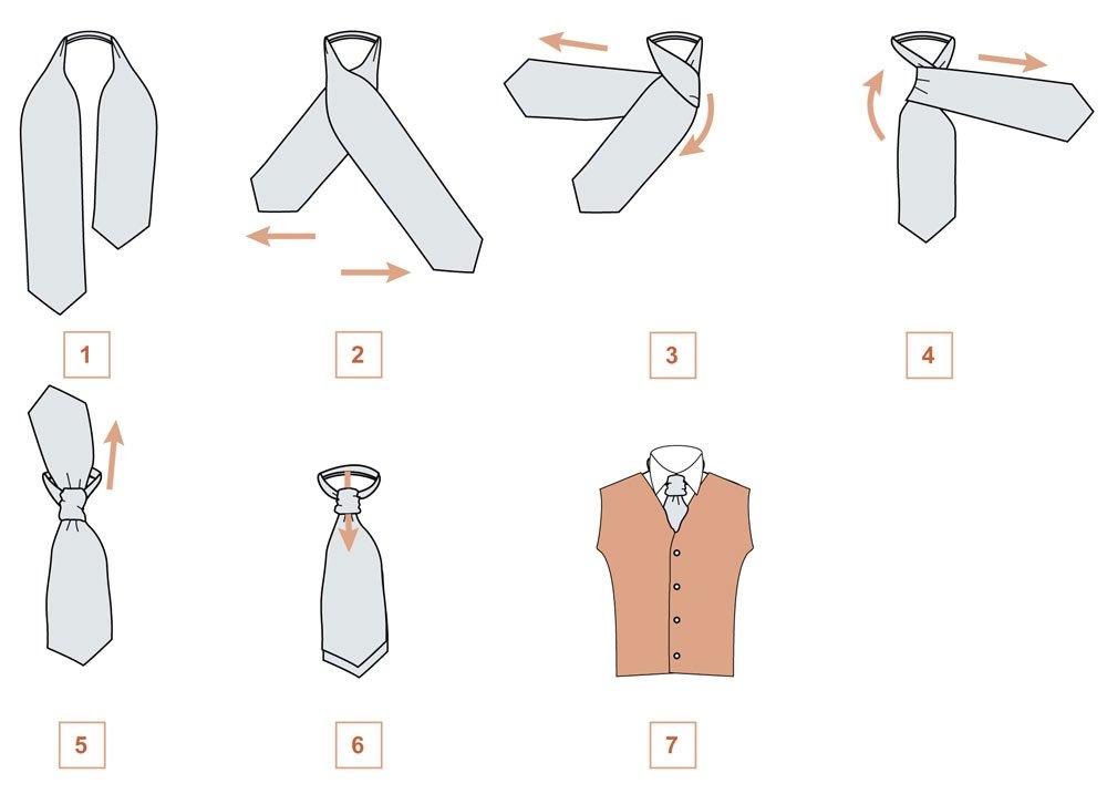 Как из галстука сделать детский галстук 282