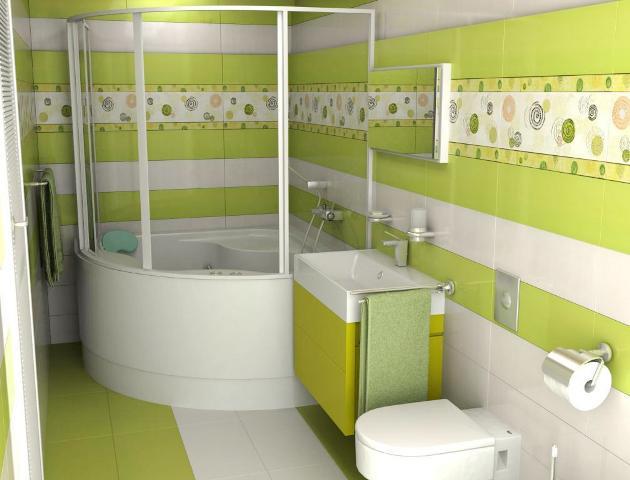 Дизайн ванних кімнат керамічною плиткою фото