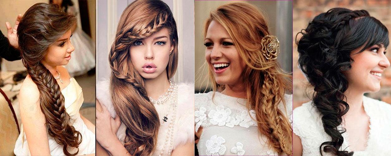Свадебные прически на среднюю длину волос волосы
