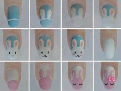 рисунки на ногтях поэтапно акриловыми красками видео