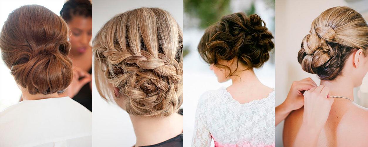 Вечерние причёски на волосы длиной до плеч