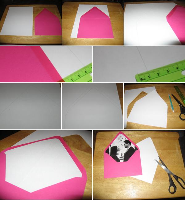 Оформление конверта своими руками 33