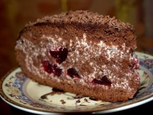 торт п'яна вишня рецепт