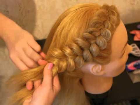 Видео уроки плетение объемных кос