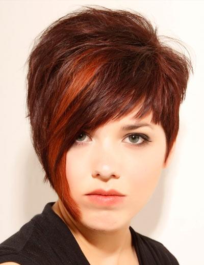 Стрижки короткие волосы асимметрия