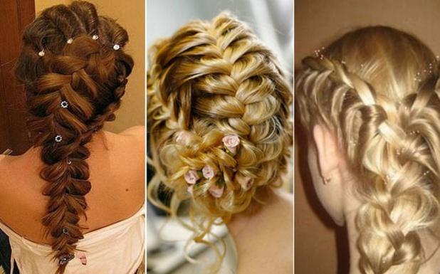 Как сделать косу на праздник