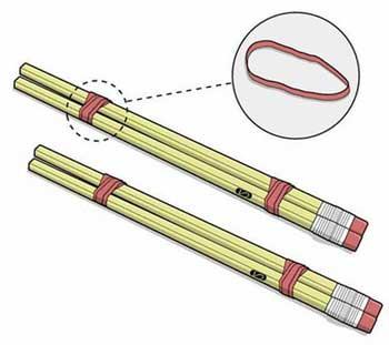 Как сделать арбалет из карандашей своими руками 28
