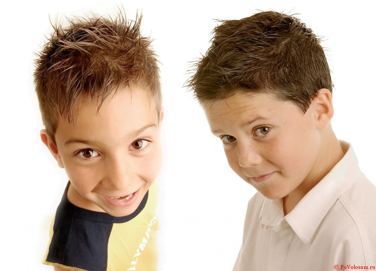 Фото с детскими прическами для мальчиков 5