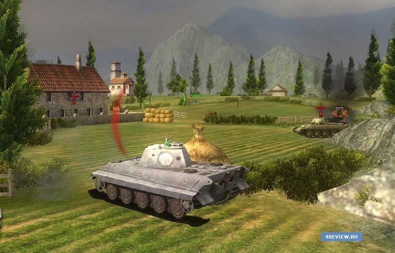 Відгук від Ground War Tanks – альтернатива грі World of Tanks