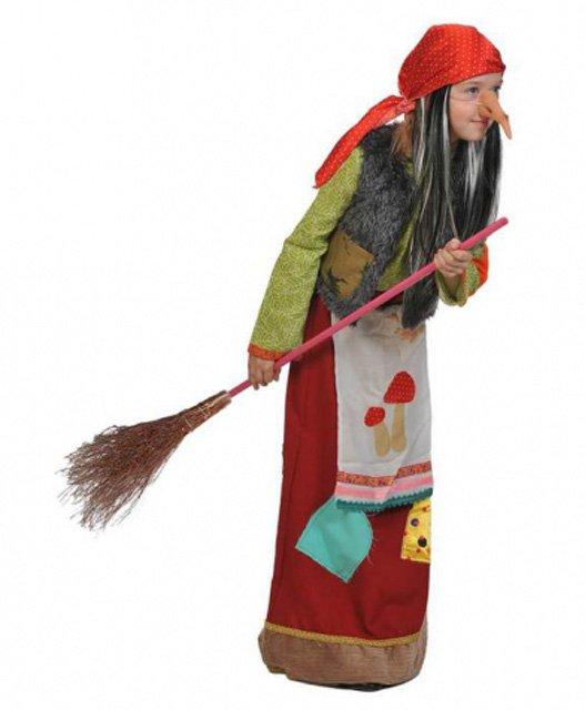 Идеи костюма Бабы Яги своими руками - Игрушки