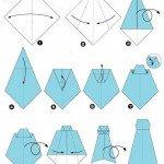 Оригами из галстука схемы