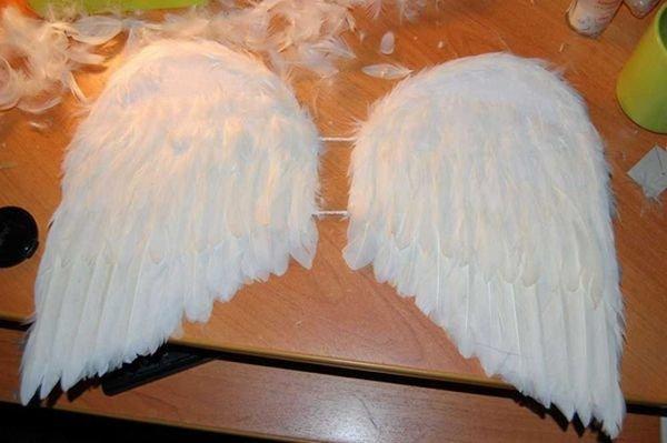 Крылья ангела для ребенка своими руками 95