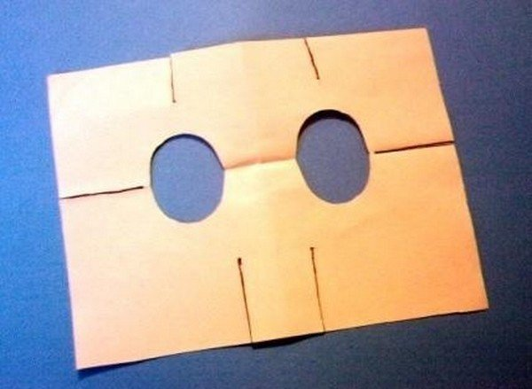 Как сделать маску из бумаги или картона