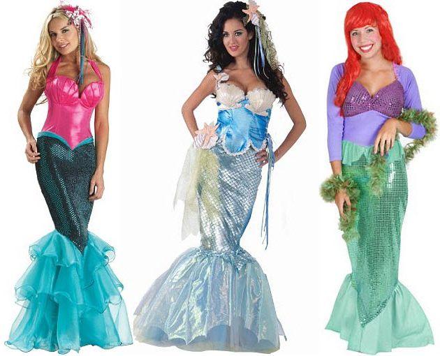 как сделать костюм русалки в домашних условиях