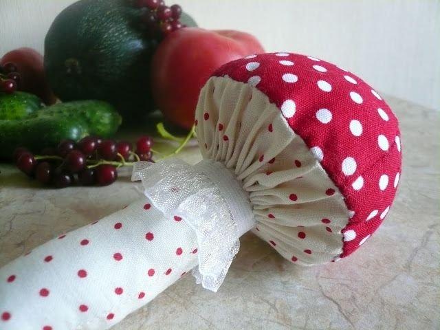 Как сшить грибочек