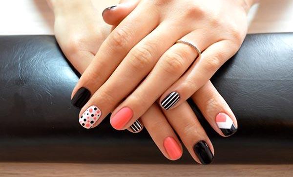 фото ногтей с рисунком гель лак