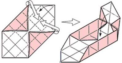 Как сделать коробочку из одного листа бумаги своими руками